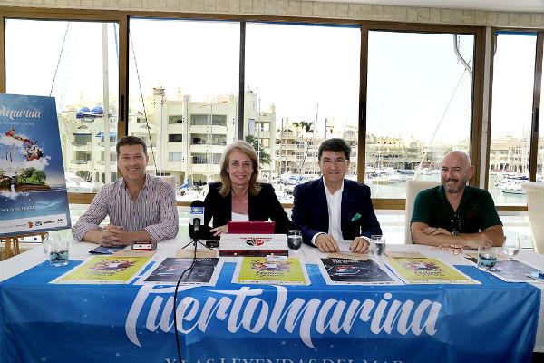 El Festival de los Siete Mares y la Concentración de Motos 'Old School'conforman las grandes propuestas lúdicas de Puerto Marina para el próximo fin de semana