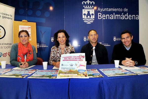 Benalmádena celebrará el próximo domingo la I Carrera Solidaria Día de la Mujer