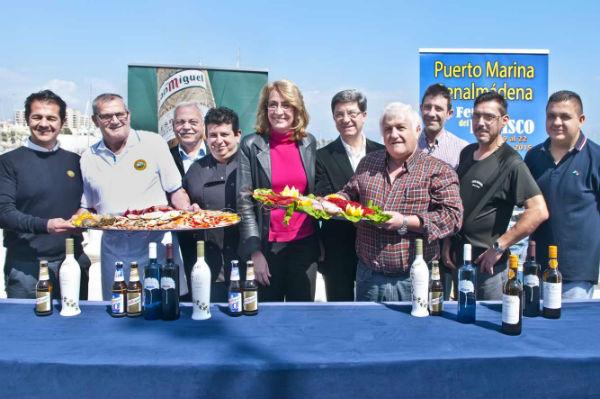 Puerto Marina acogerá a partir del próximo jueves la VII Feria del Marisco de Benalmádena.