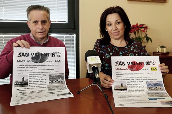 El Centro de Día 'Anica Torres' organiza un viaje a Matalascañas para celebrar el día de San Valentín