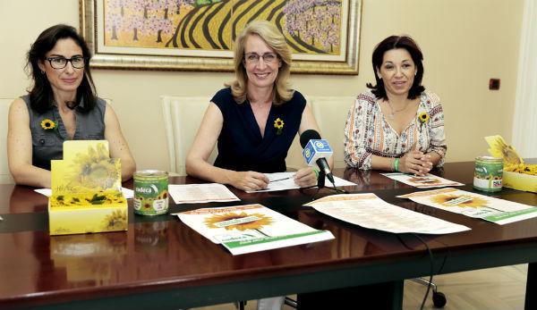 Cudeca pone en marcha la 'Campaña del Girasol 2015', centrada en recaudar fondos para los cuidados paliativos