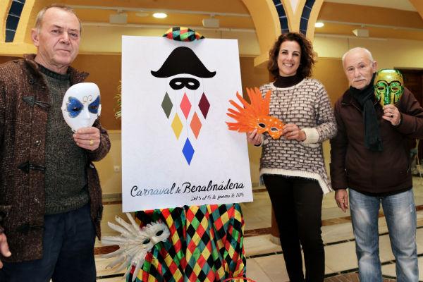 La obra 'Il Arleccino' de Antonio Galván será la imagen del Carnaval de Benalmádena 2015