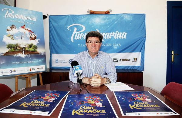 Los visitantes del Puerto Deportivo podrán disfrutar el próximo fin de semana de un 'Cine Karaoke'