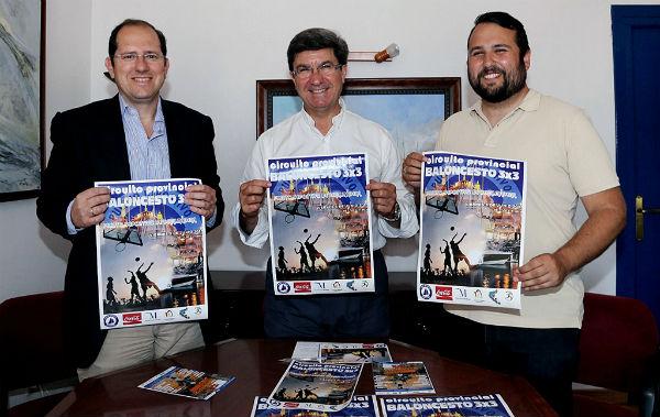 El Puerto Deportivo acogerá el próximo viernes la primera prueba del XXI Circuito Provincial de Baloncesto 3X3