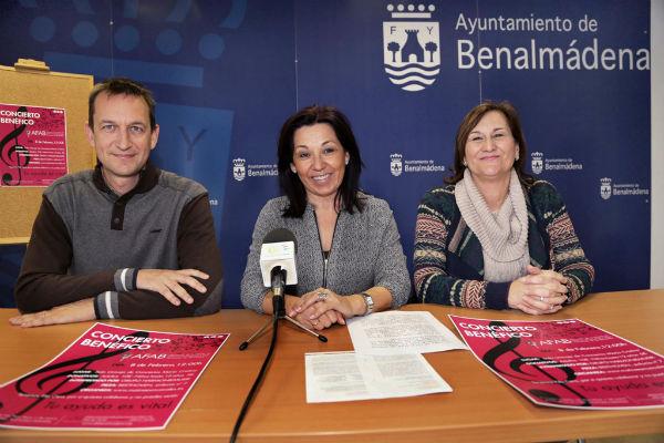 La Sala María Cristina de Málaga acogerá el próximo domingo un concierto de música a beneficio de AFAB