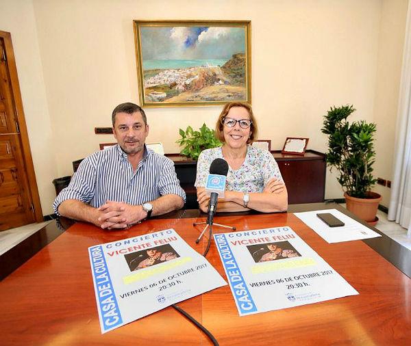La Casa de la Cultura acogerá el viernes un concierto de Vicente Feliu, fundador de la Nueva Trova Cubana