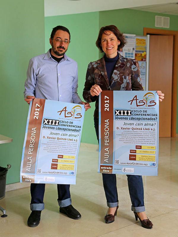 La Asociación ASIS desarrollará su Nuevo Ciclo de Conferencias 'Aula Persona' en el Edificio Innova