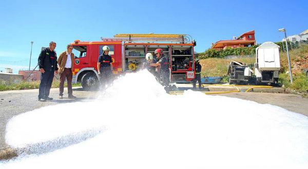 Bomberos refuerza su dotación técnica con la adquisición de un nuevo generador de espuma de alta expansión para la extinción de incendios