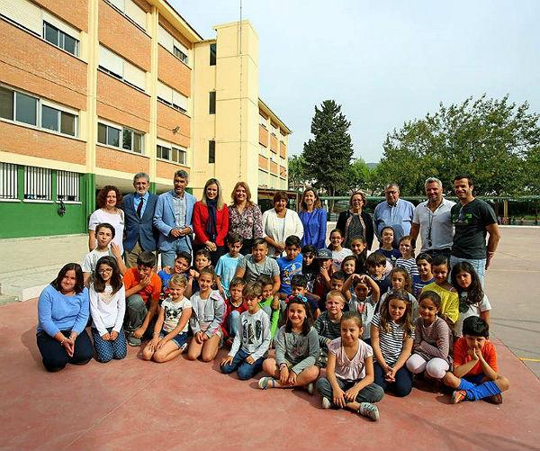 Benalmádena fomenta los hábitos de vida saludables entre los escolares con el programa 'Una Milla Diaria'