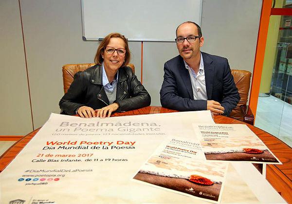 Benalmádena será sede internacional en lengua hispana del Día Mundial de la Poesía