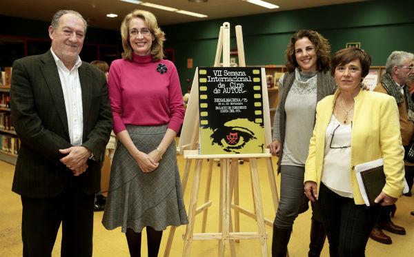 La biblioteca municipal de Arroyo de la Miel presenta su fondo local con una exposición sobre la Semana de Cine de Autor