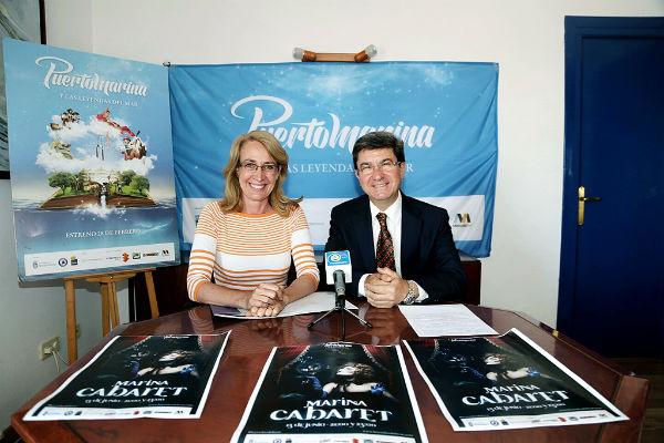 El Puerto Deportivo acogerá el próximo sábado el espectáculo de 'Marina Cabaret'