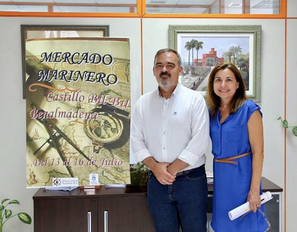 Comercio organiza un mercado marinero dentro del programa de la Veladilla de la Virgen del Carmen.