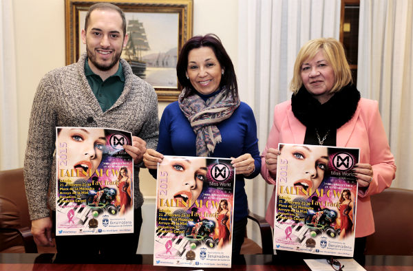 La Plaza de la Mezquita acogerá el próximo sábado la Gala Fast Track 'Talent Show', prueba valedera para elegir a 'Miss World Málaga'