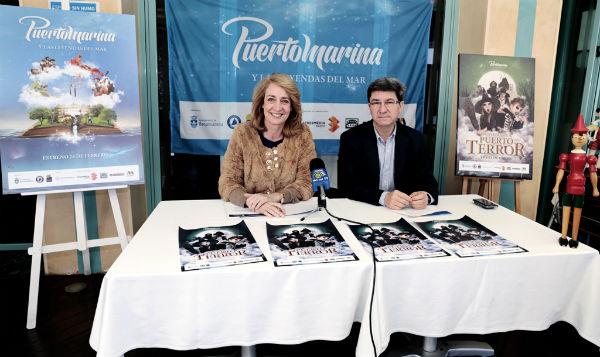 'Puerto Marina y Las Leyendas del Mar' invitan a sus visitantes a pasar un fin de semana 'de miedo'.