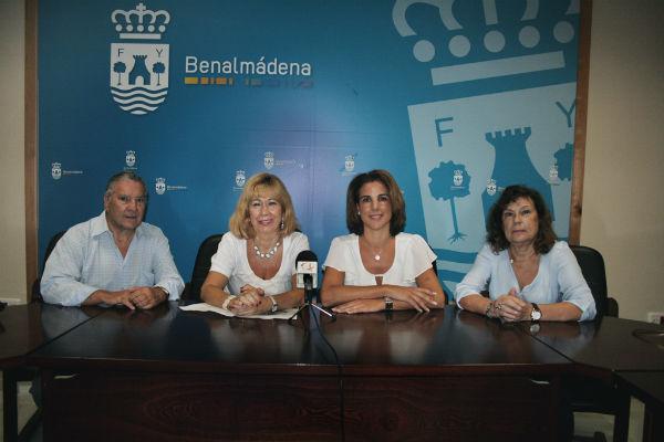 'Juntos contruimos la Paz en Benalmádena' izará este sábado su bandera en el Parque de la Paloma