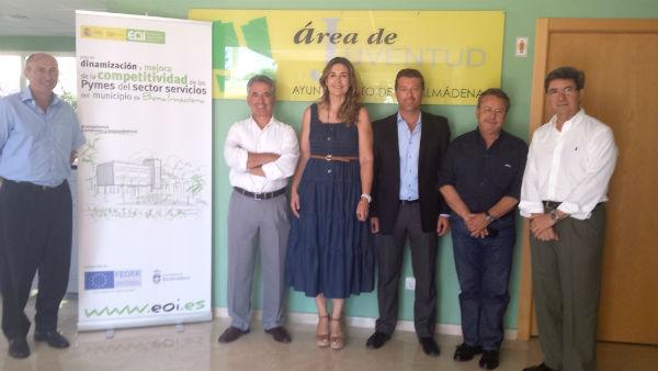 El Ayuntamiento presenta a Aehcos el Plan de Dinamización y Mejora de la Competividad de las Pymes del Sector Servicios