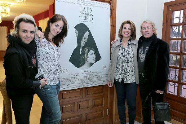 La Casa de la Cultura acoge la presentación del cortometraje 'Caen piedras del cielo'
