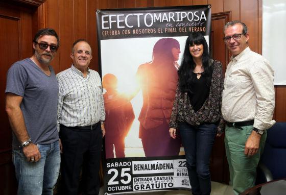 Francisco Salido presenta el próximo concierto de 'Efecto Mariposa'