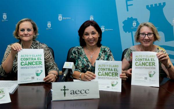 La Asociación Española Contra el Cáncer celebrará el jueves su cuestación anual con el lema 'Hablemos alto y claro contra el cáncer'