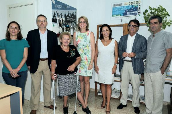 La alcaldesa presenta el curso de Formador de Formadores 'Prospect' puesto en marcha por AFESOL
