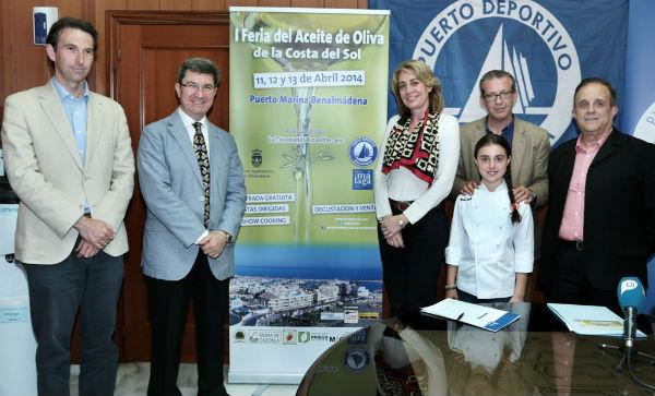 El Puerto Deportivo acogerá este fin de semana la I Feria del Aceite de Oliva de la Costa del Sol 'Aovesol'