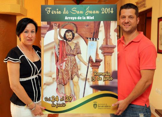 Tejada presenta la programación de la Feria San Juan 2014