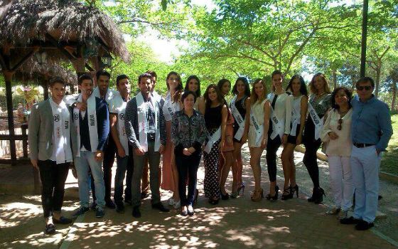 Concepción Tejada presenta II Gala Miss & Mister World Málaga 2014