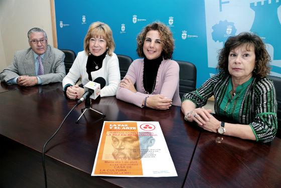 La Casa de la Cultura acoge la jornada 'La Paz y el Arte'