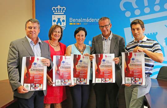 Benalmádena acoge la Marcha Solidaria en favor de Afab el próximo domingo día 15