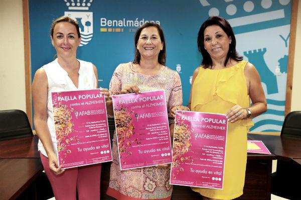 AFAB celebrará el próximo sábado la I Paella Popular contra el Alzheimer