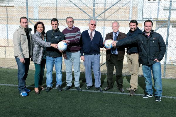 Presentación del Torneo Trianguralar Solidario a beneficio del Comedor Social y Cáritas