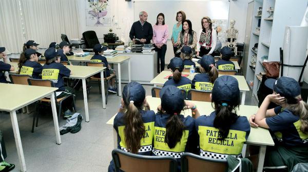 Más de 500 escolares formarán parte de la 'Patrulla Recicla' de Benalmádena