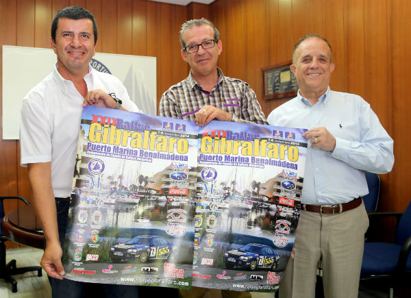 Firma del acuerdo para la organización del XXIX Rally Gibralfaro Puerto Marina Benalmádena