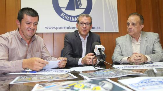 Francisco Salido anuncia la firma del acuerdo para la organización del XXIX Rally Gibralfaro Puerto Marina Benalmádena