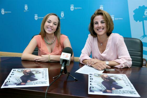 La joven bailaora Johana González ofrecerá el próximo sábado su espectaculo 'Rebelde' en la Casa de la Cultura