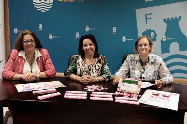 Benalmádena celebra esta semana el Día Mundial Contra el Cáncer de Mama con el lema #SumateAlRosa