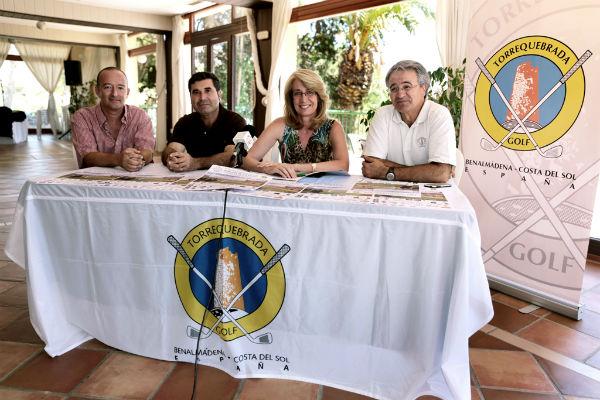 La alcaldesa presenta la segunda edición del Torneo de Golf Benéfico 'Virgen de la Cruz'