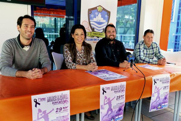 El Club de Raqueta celebrará el próximo sábado el I Torneo 'Mujr y Pádel'