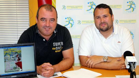 El PDM de Benalmádena presenta su programa de actividades deportivas para la Feria de San Juan 2014