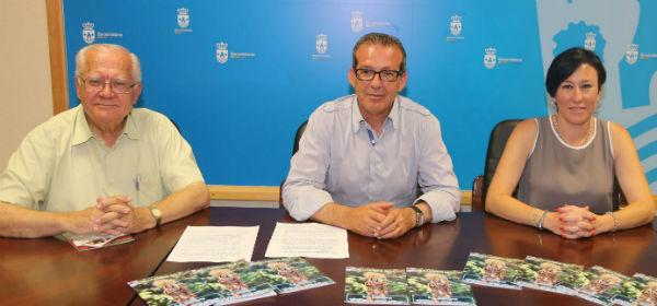 Francisco Salido y Concepción Tejada presentan la programación de la Veladilla del Carmen