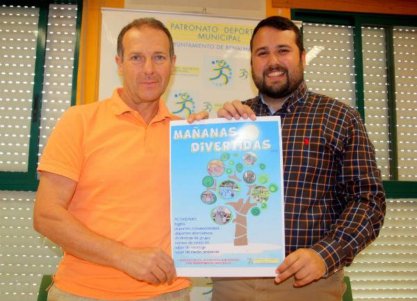 Juan Olea y Juan Carlos Maestro han presentado las actividades deportivas de verano 2014