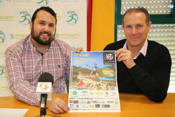 El concejal de Deportes presenta la 6ª edición de la Carrera por Montaña Calamorro 2014