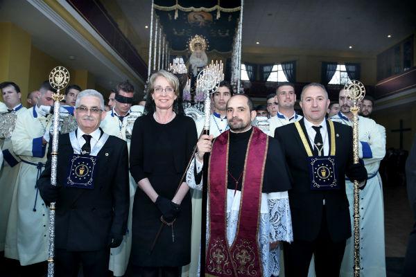 Los benalmadenses viven con gran sentimiento y devoción su Semana Santa