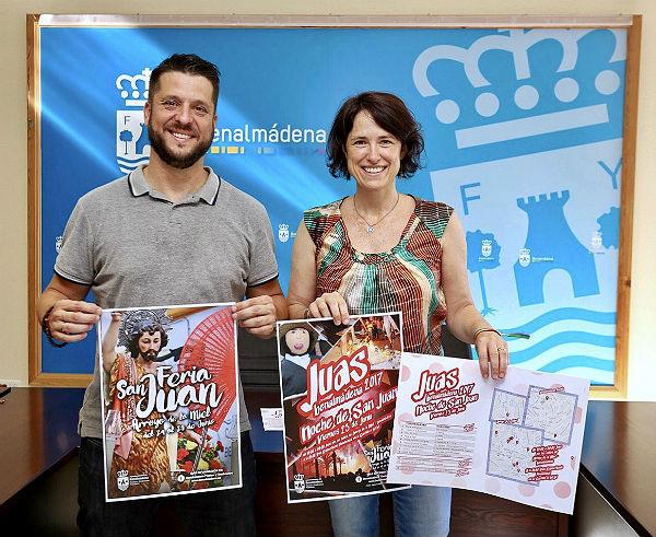 La Delegación de Fiestas y Tradiciones Populares presenta el programa de la Feria de San Juan