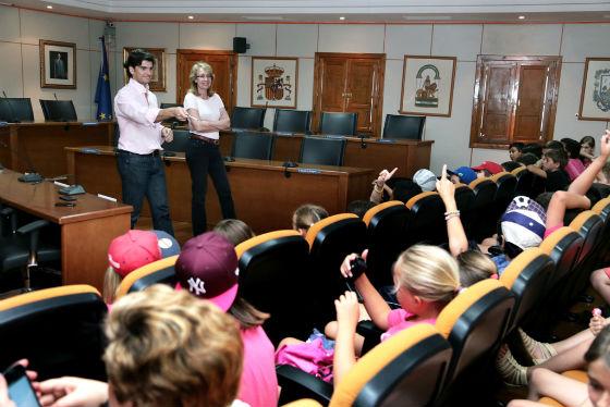 Más de un centenar de alumnos del Colegio Jacaranda participan en el programa 'Conoce tu Municipio'