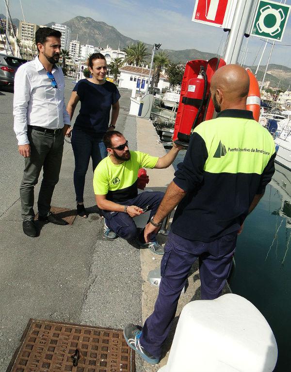 El Programa de Reparaciones y Mejoras en los muelles y pantanales del Puerto entra en su recta final