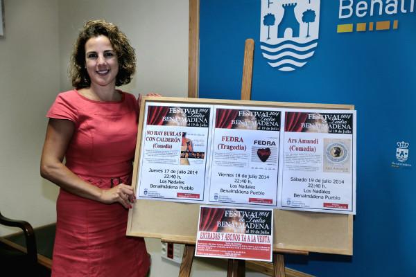 La comedia 'No hay burlas con Calderón' abre el próximo jueves el Festival de Teatro de Benalmádena