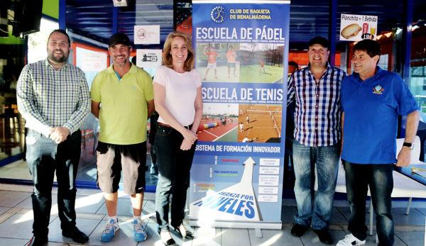 El club de raqueta presenta su nuevo proyecto deportivo para impulsar el pádel y el tenis en Benalmádena