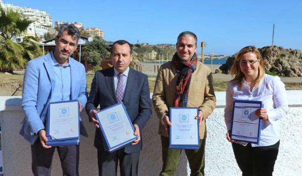La Diputación provincial entrega al Ayuntamiento el Proyecto del Primer Tramo de la Senda Litoral en Benalmádena